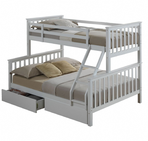 Silas Bunk bed (White)006
